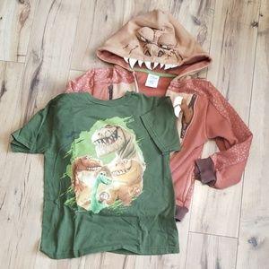 Good Dinosaur Hoodie and Tee